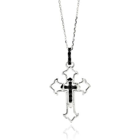 Faithfully Yours Cross Pendant